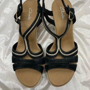 Clarks wedge Sandals